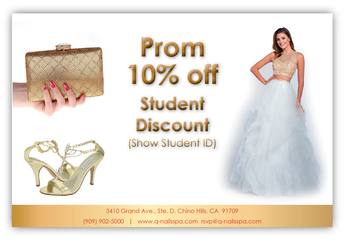 Prom Student 10% off Discount